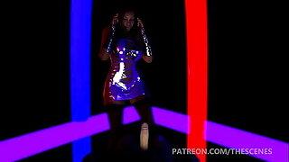 Busty Ebony lap Dance