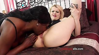 Lisa Rivera could not wait to get her mouth on Nadia's White's PUSSY!! / SuperHotFilms
