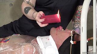 MLDO-175 A Volunteer Slave goes through Electrocution Training