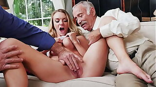 BLUE Wet blanket Bodies - Busty Blonde College Student Molly Mae Earns Her Keep By Pleasing Old Bodies
