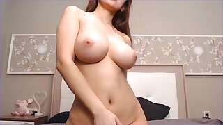 Busty Japanese Cam Dirty Dance Naked