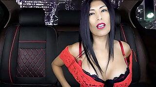 Big-tits  Hot LATINA LadyExoticASMR seduces EX in Fake Taxi